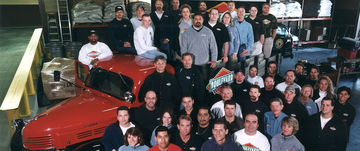 OUR TEAM - 2001