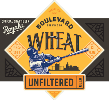 Royals Unfiltered Wheat Beer Labels