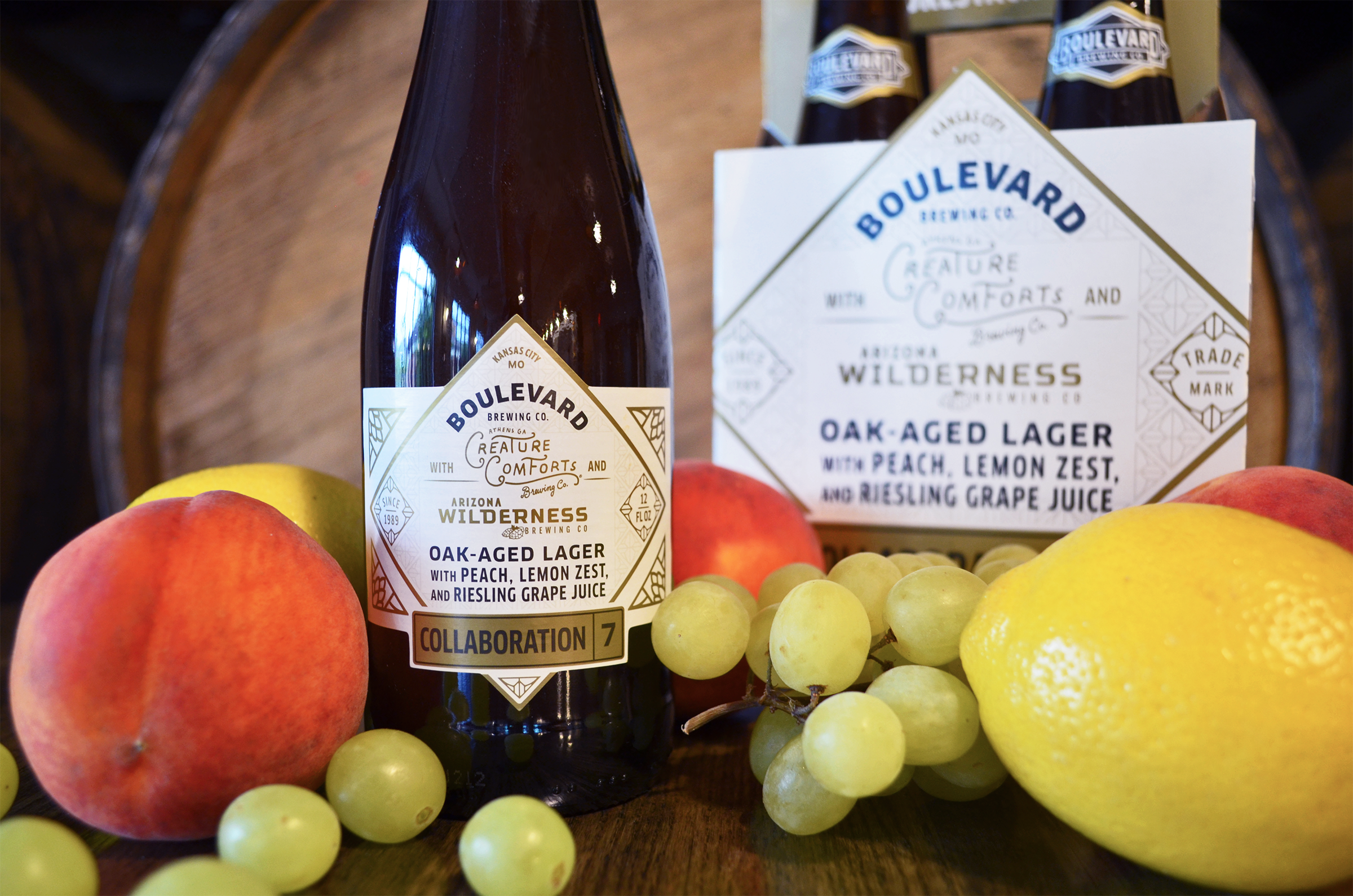 Collaboration No. 7 – Oak-Aged Lager Debuts