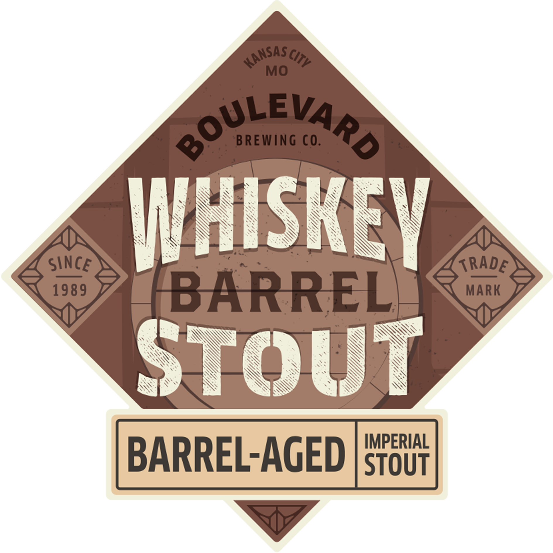 Whiskey Barrel Stout Boulevard Brewing Company