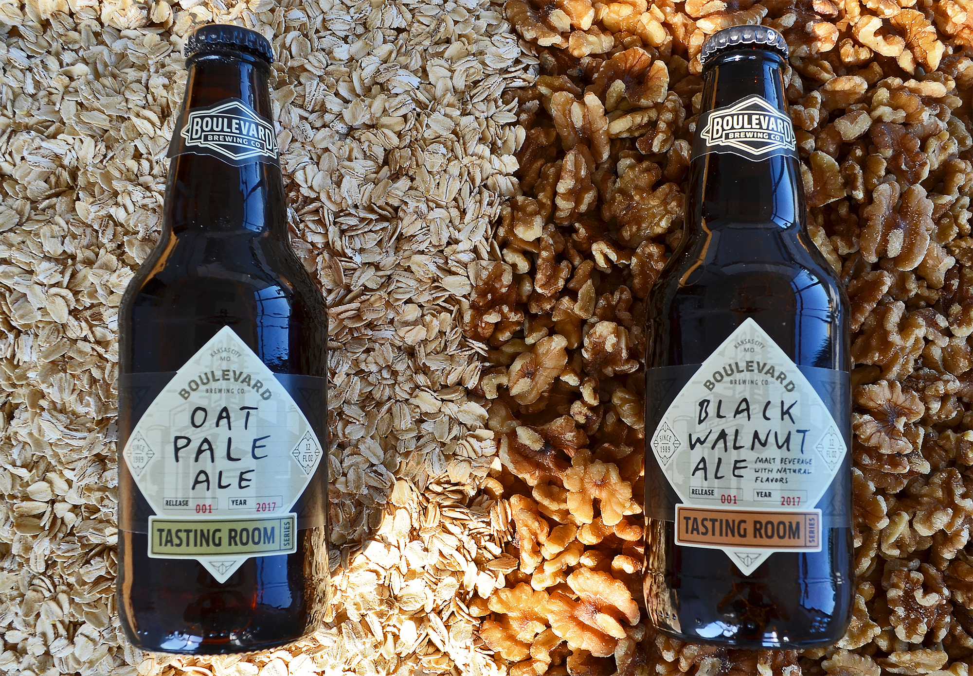 Black Walnut Ale and Oat Pale Ale