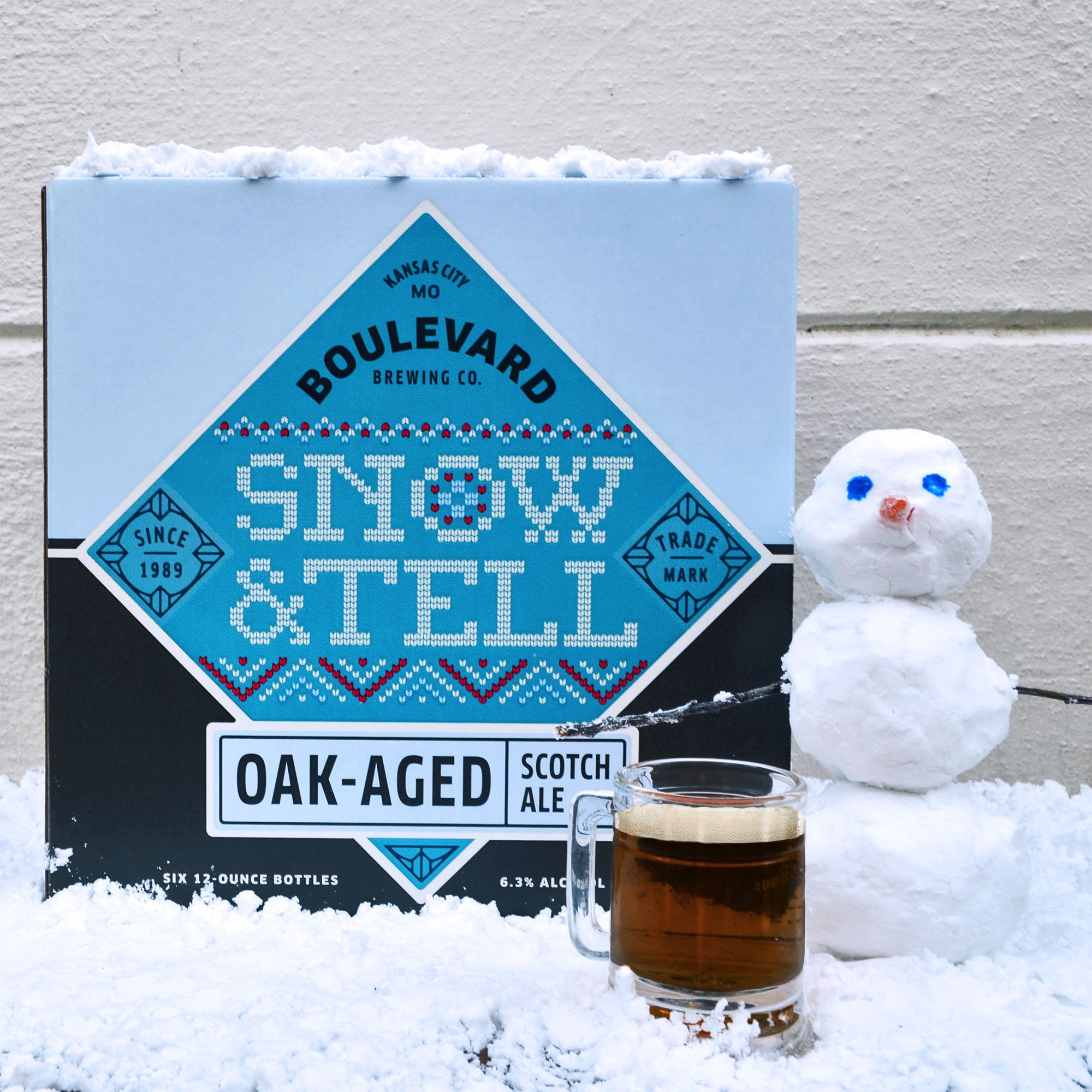 Snow & Tell Oak-Aged Scotch Ale Returns