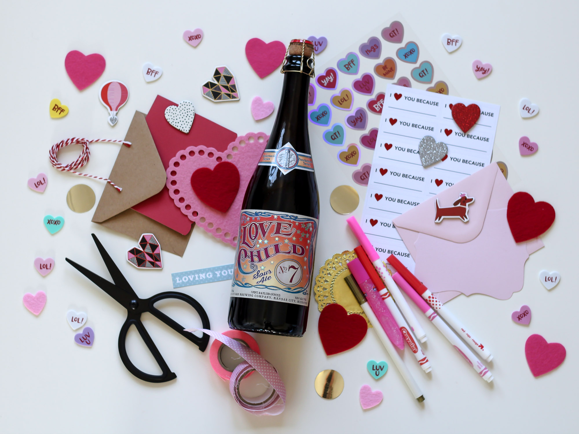 Paper crafts and boozy drafts