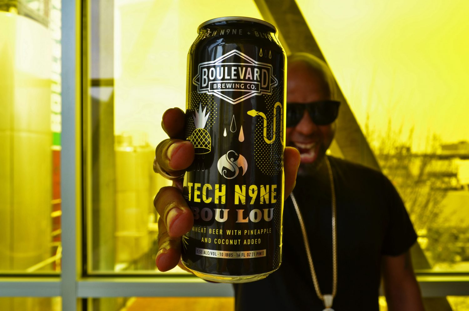 Boulevard and TechN9ne Brew Up a Party in a Can