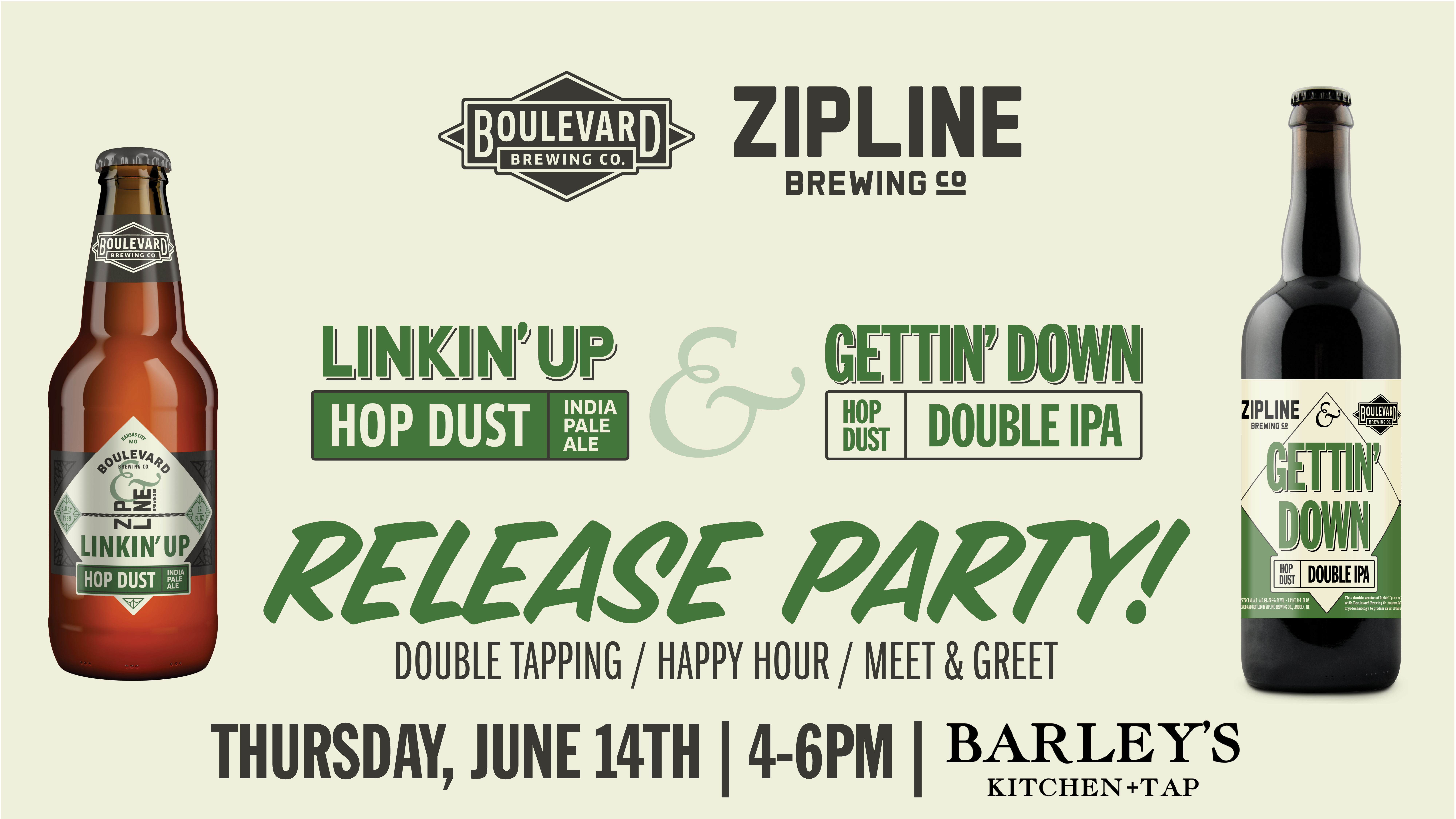 Linkin Up And Gettin Down Release Party Barleys Kitchen Tap