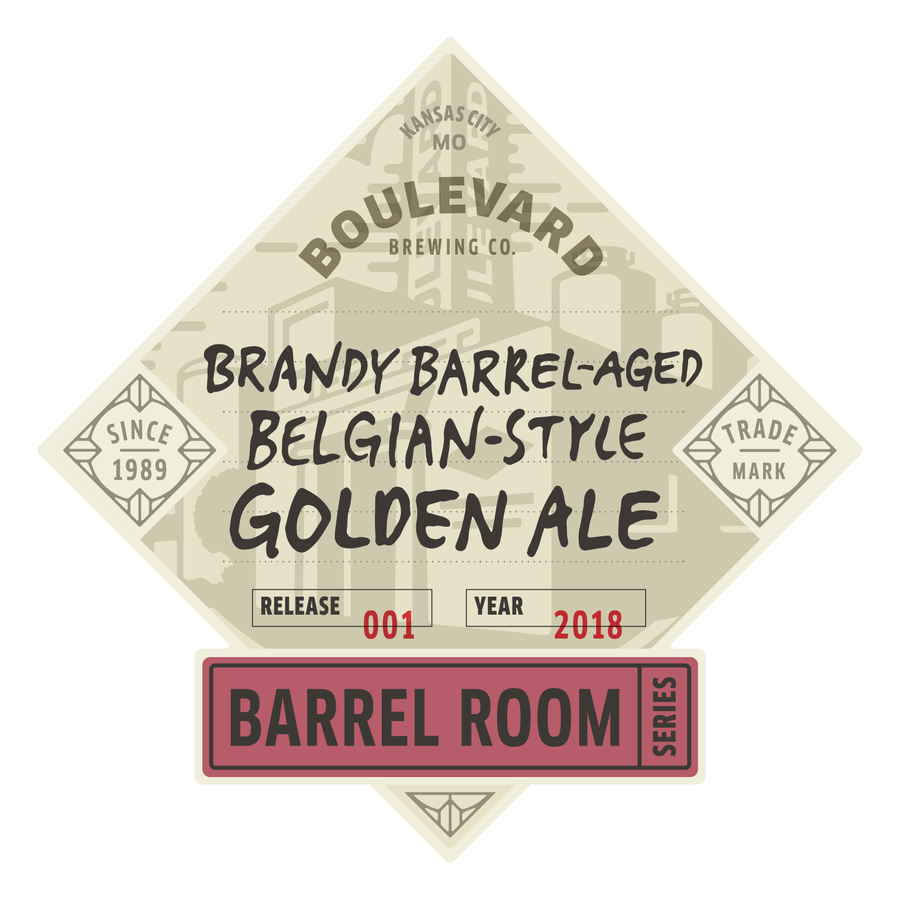 Brandy Barrel-Aged Belgian-Style Golden Ale