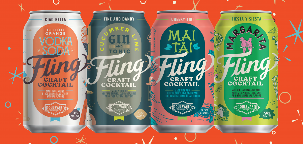 Boulevard Beverage Company To Launch Fling Craft Cocktails