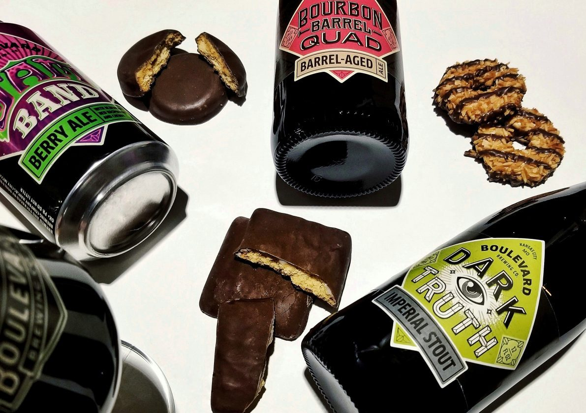 Girl Scout cookies + beer pairings