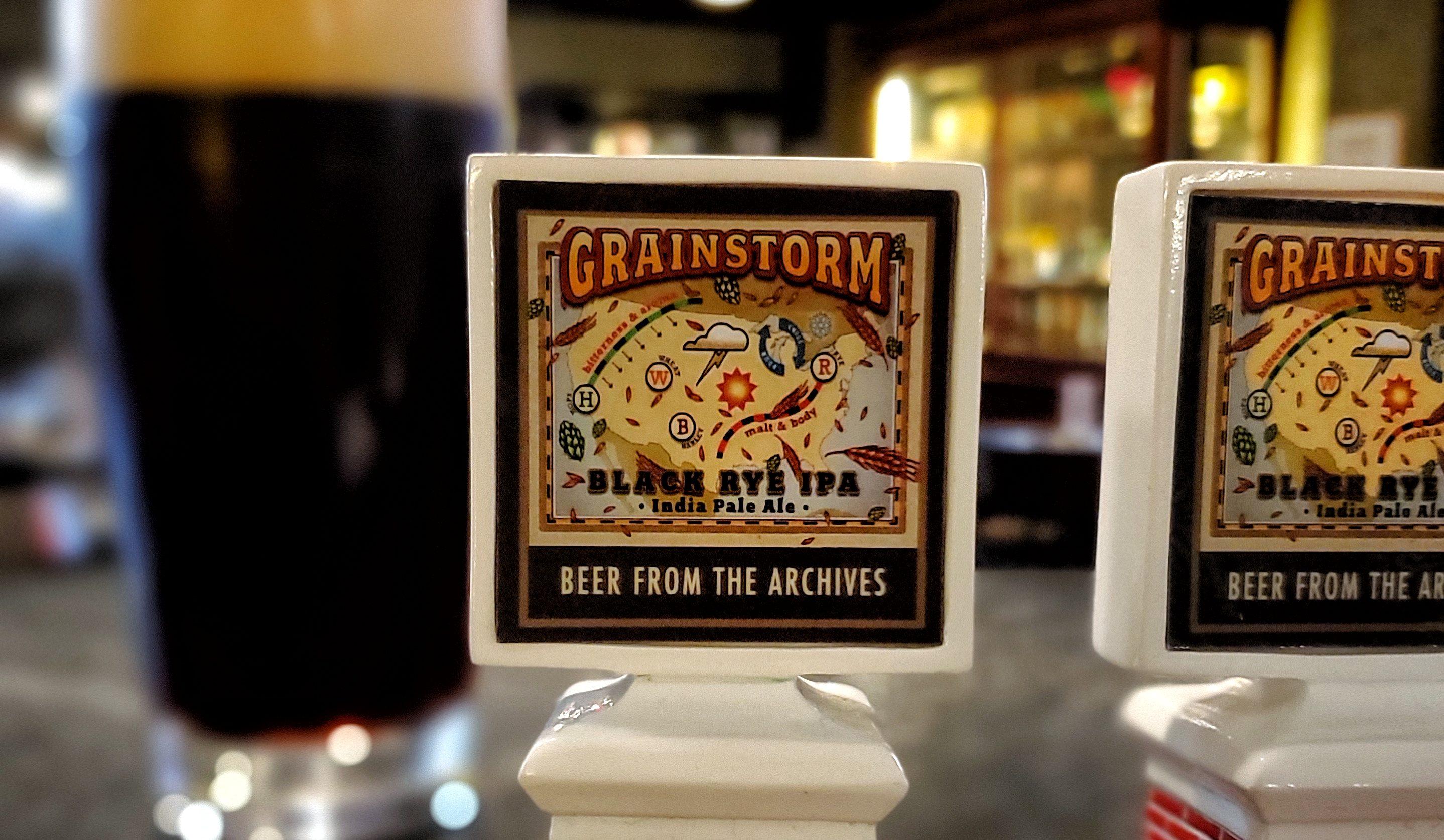 Grainstorm Black Rye IPA