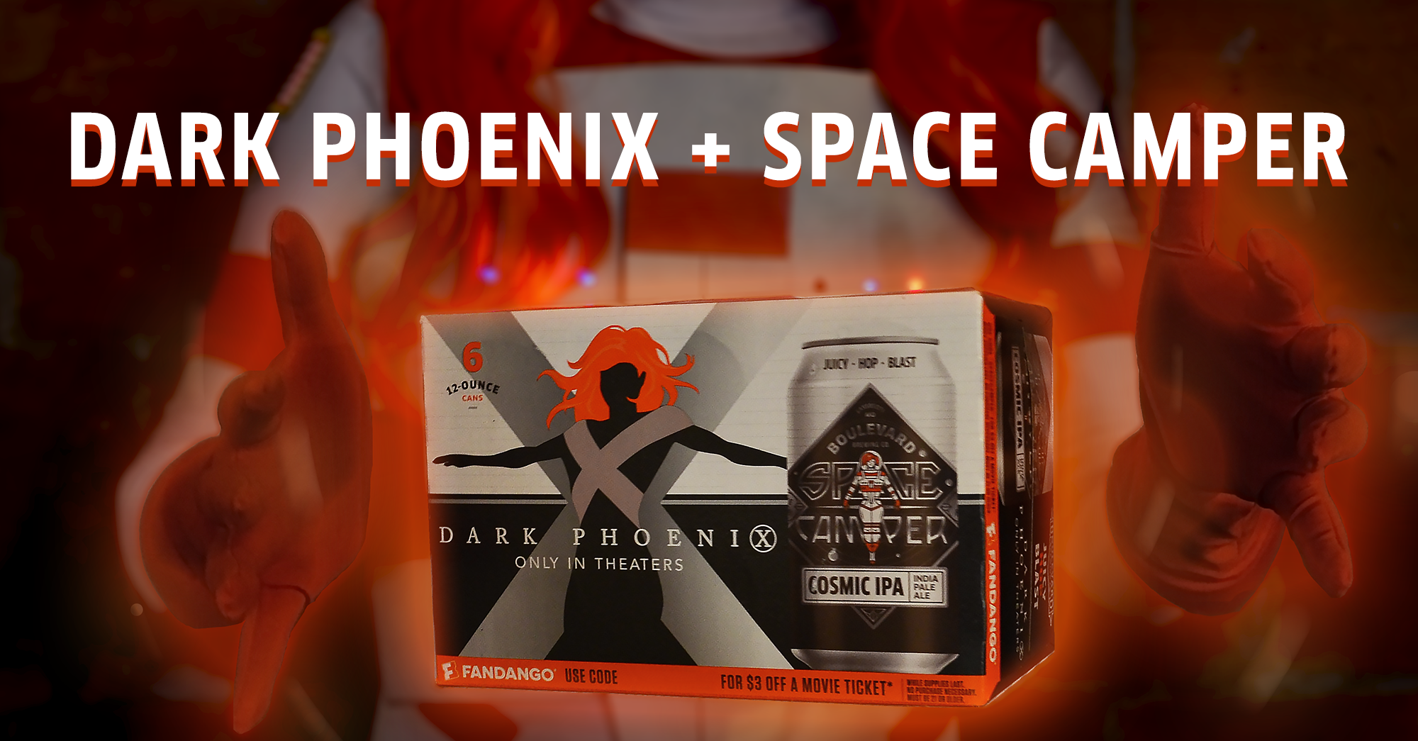 Space Camper Dark Phoenix
