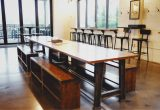 Farmhouse Table in Beer Hall