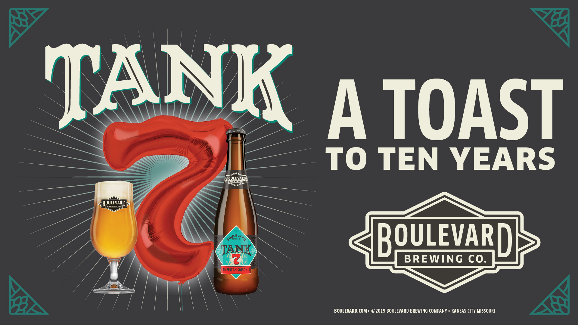 A toast to ten years - Tank 7