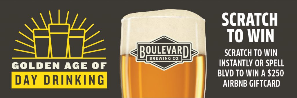 Golden Age of Day Drinking Scratcher Promotion | Boulevard Brewing
