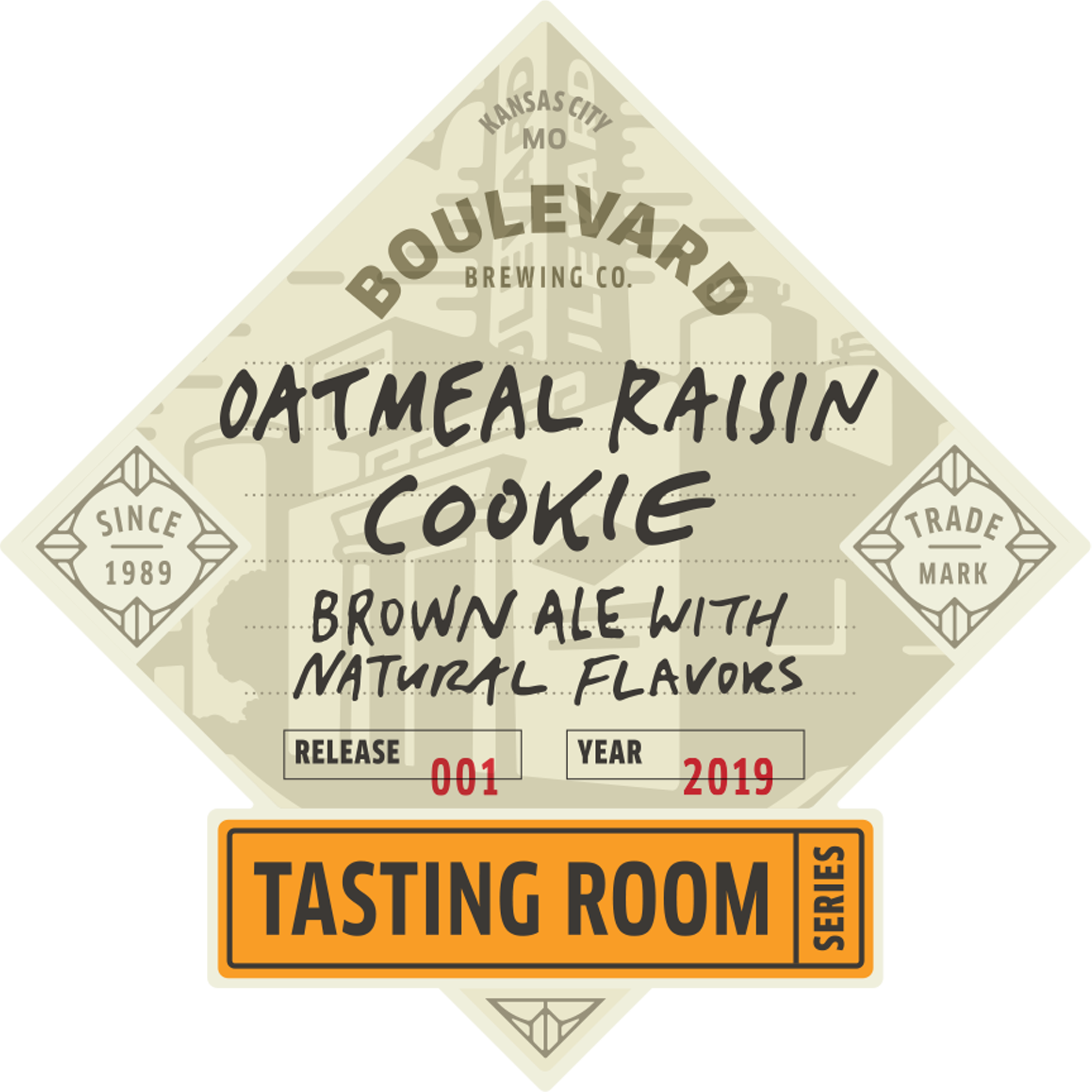 Tasting Room – Oatmeal Raisin Cookie