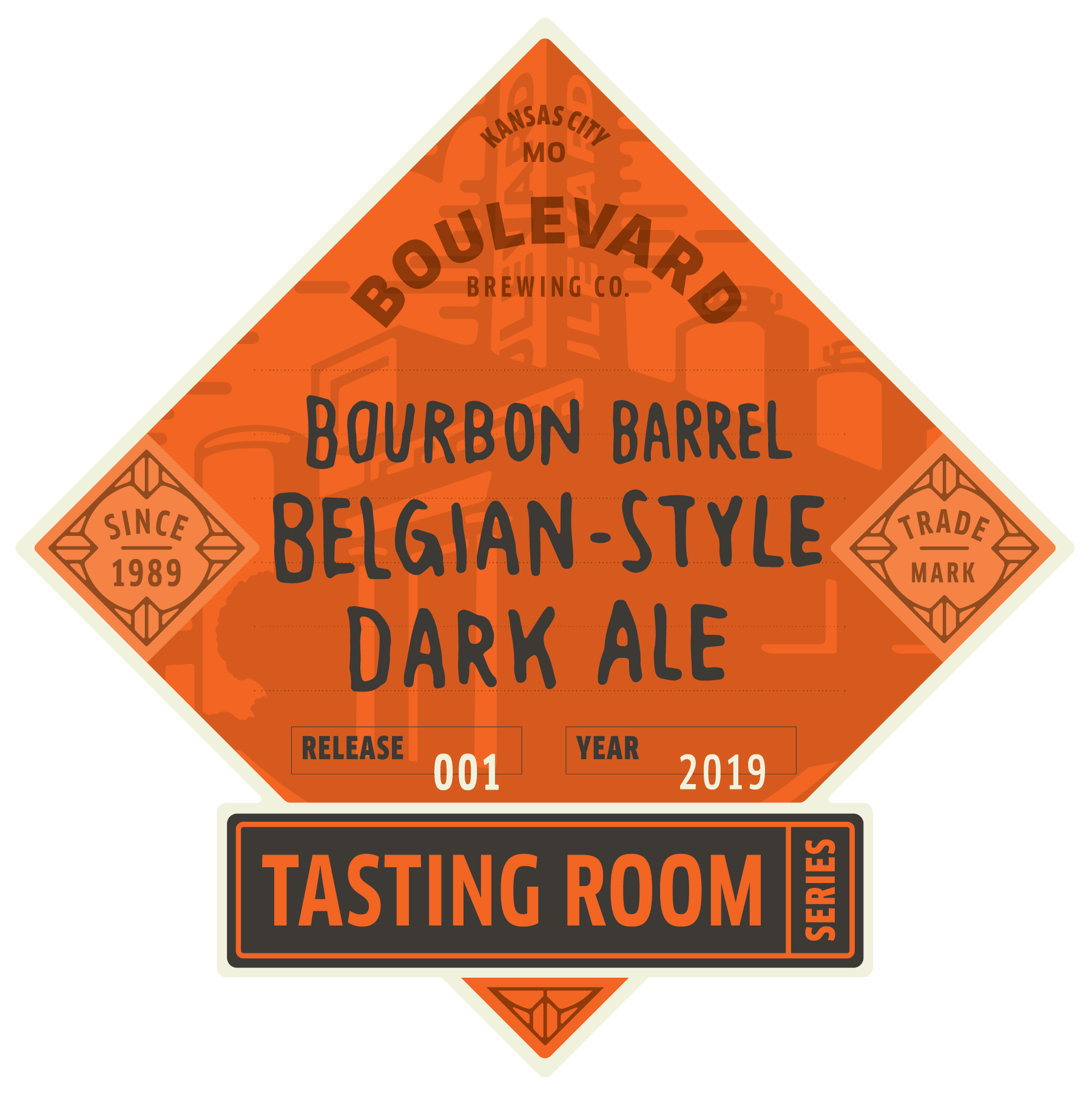Tasting Room – Bourbon-Barrel Belgian-Style Dark Ale