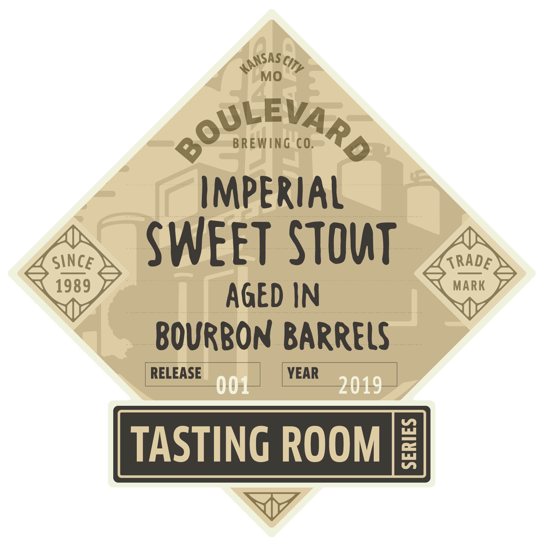 Tasting Room – Imperial Sweet Stout aged in Bourbon Barrels