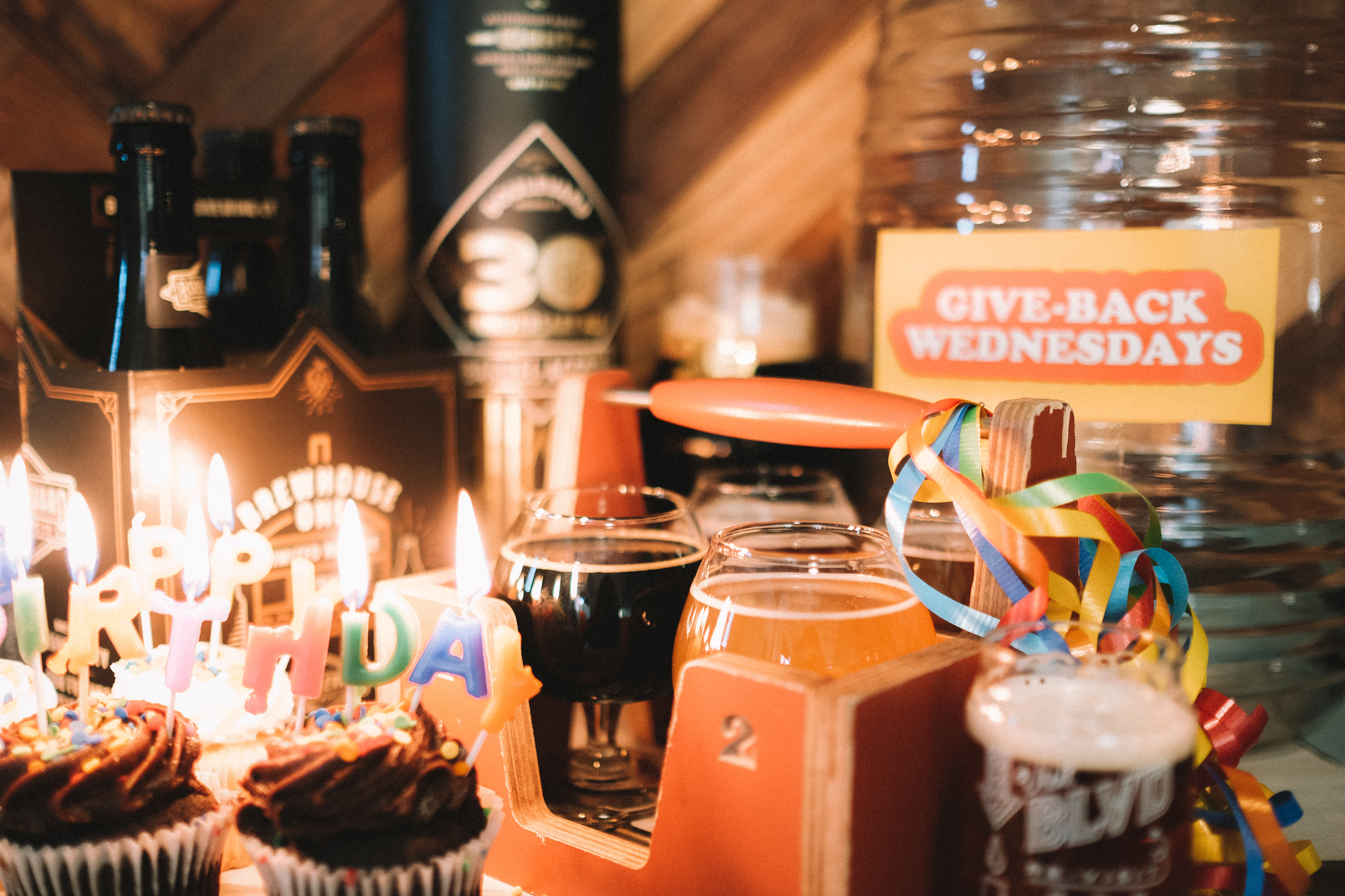 Beers, Cupcakes & Candles for Boulevard Brewing Co.'s Thirtieth Birthday