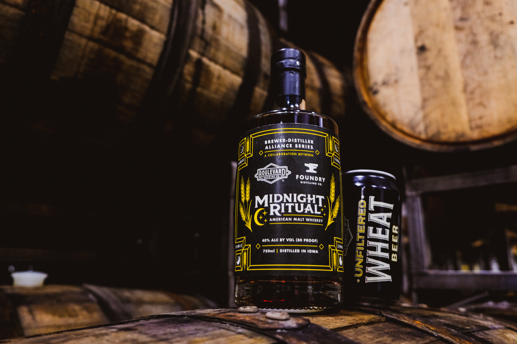 Midnight Ritual: A Boulevard Brewing Co. + Foundry Distilling Co. Collaboration