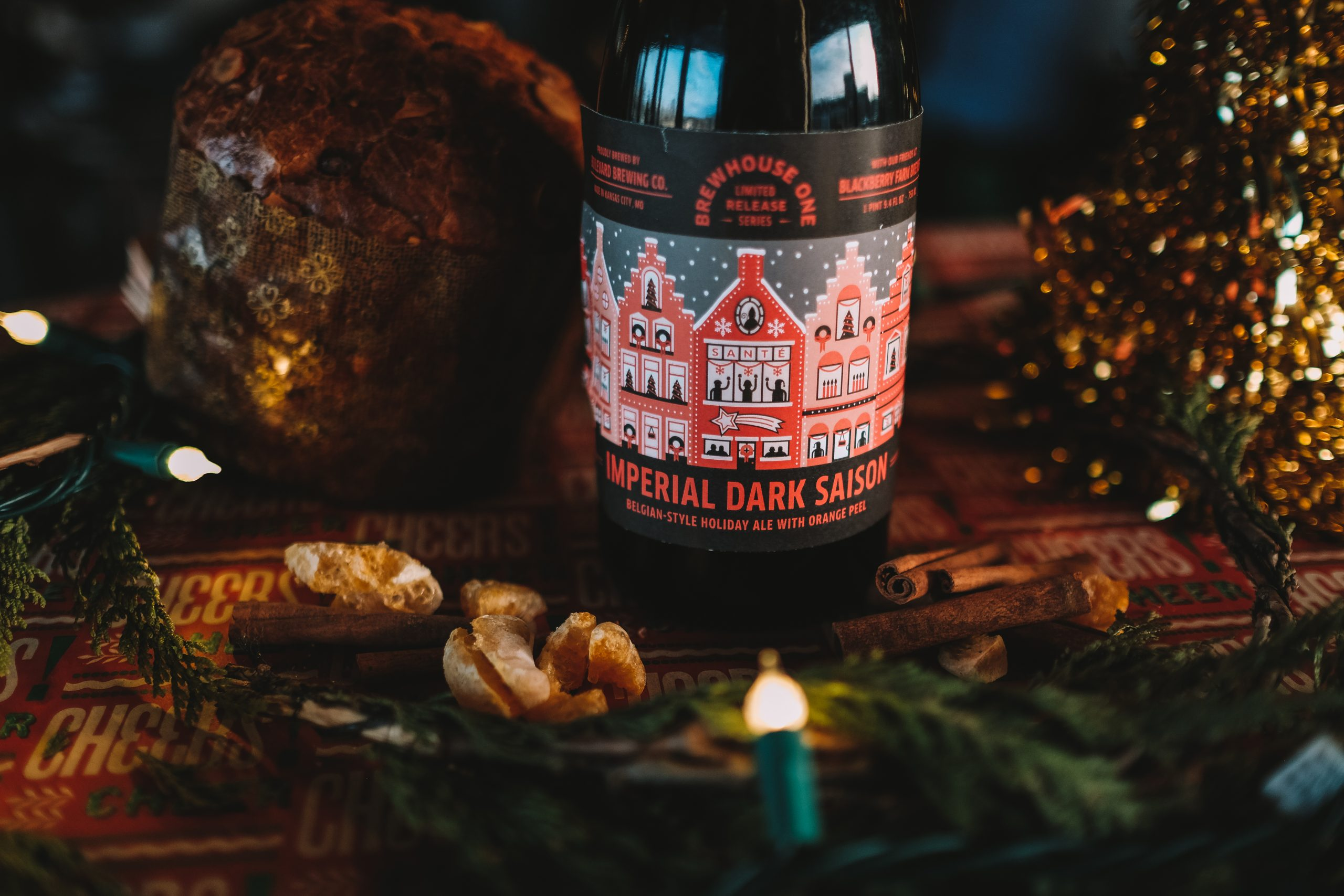 Brewhouse One Series: Imperial Dark Saison – Belgian-Style Holiday Ale