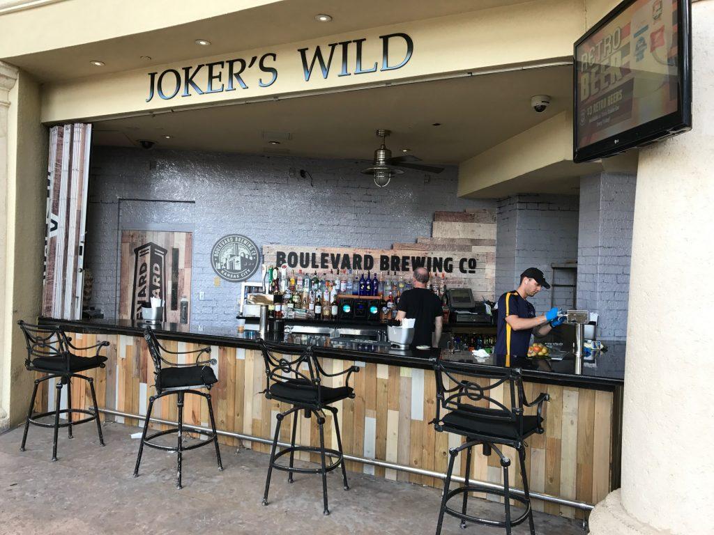Boulevard bar at Gulfstream Park