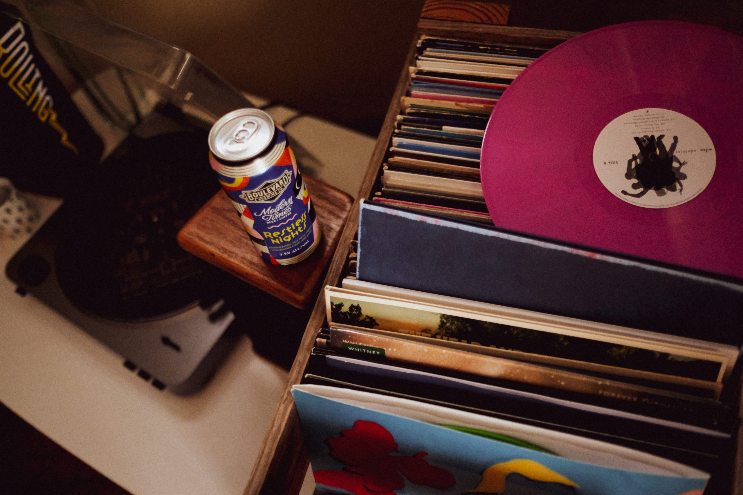 VInyl Records with Restless Nights