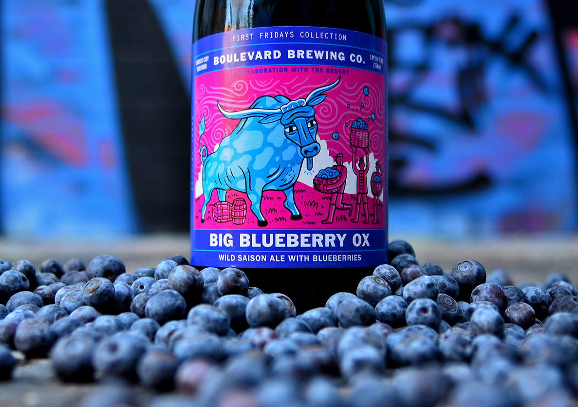 First Fridays Collection: Big Blueberry Ox with The Bruery Terreux