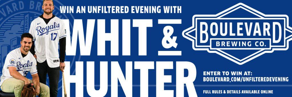 Whit Merrifield and Hunter Dozier Unfilterd Evening Graphic