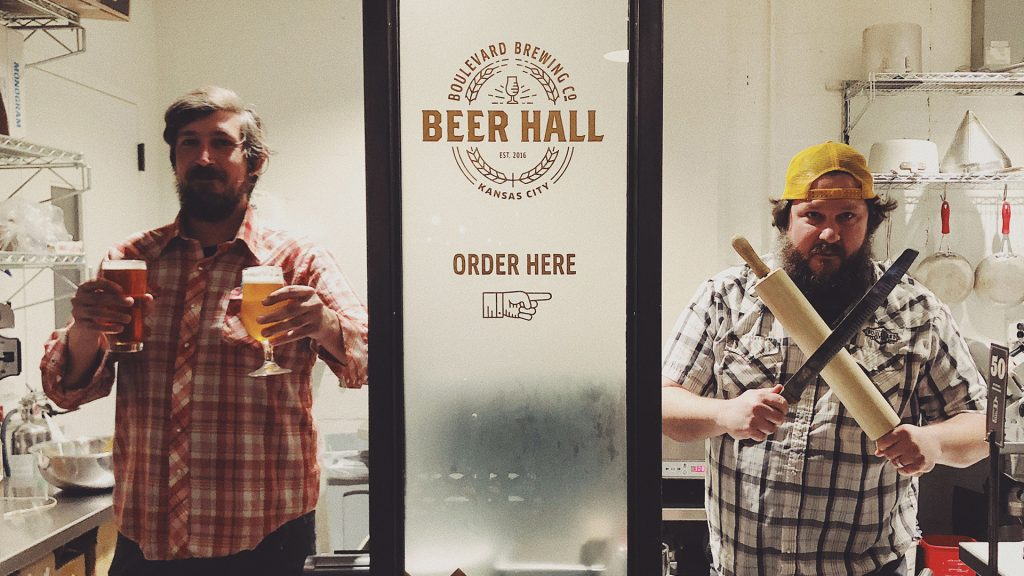 Beer Hall Order Window