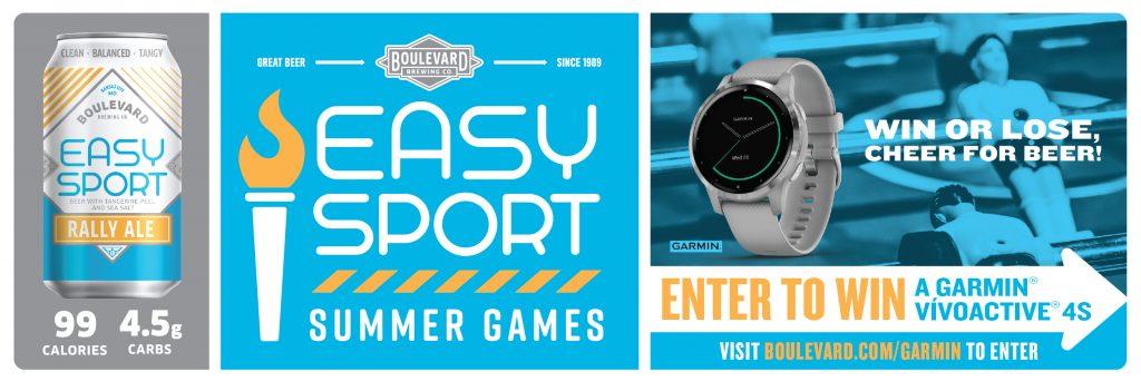 Easy Sport Summer Games Garmin Sweepstakes
