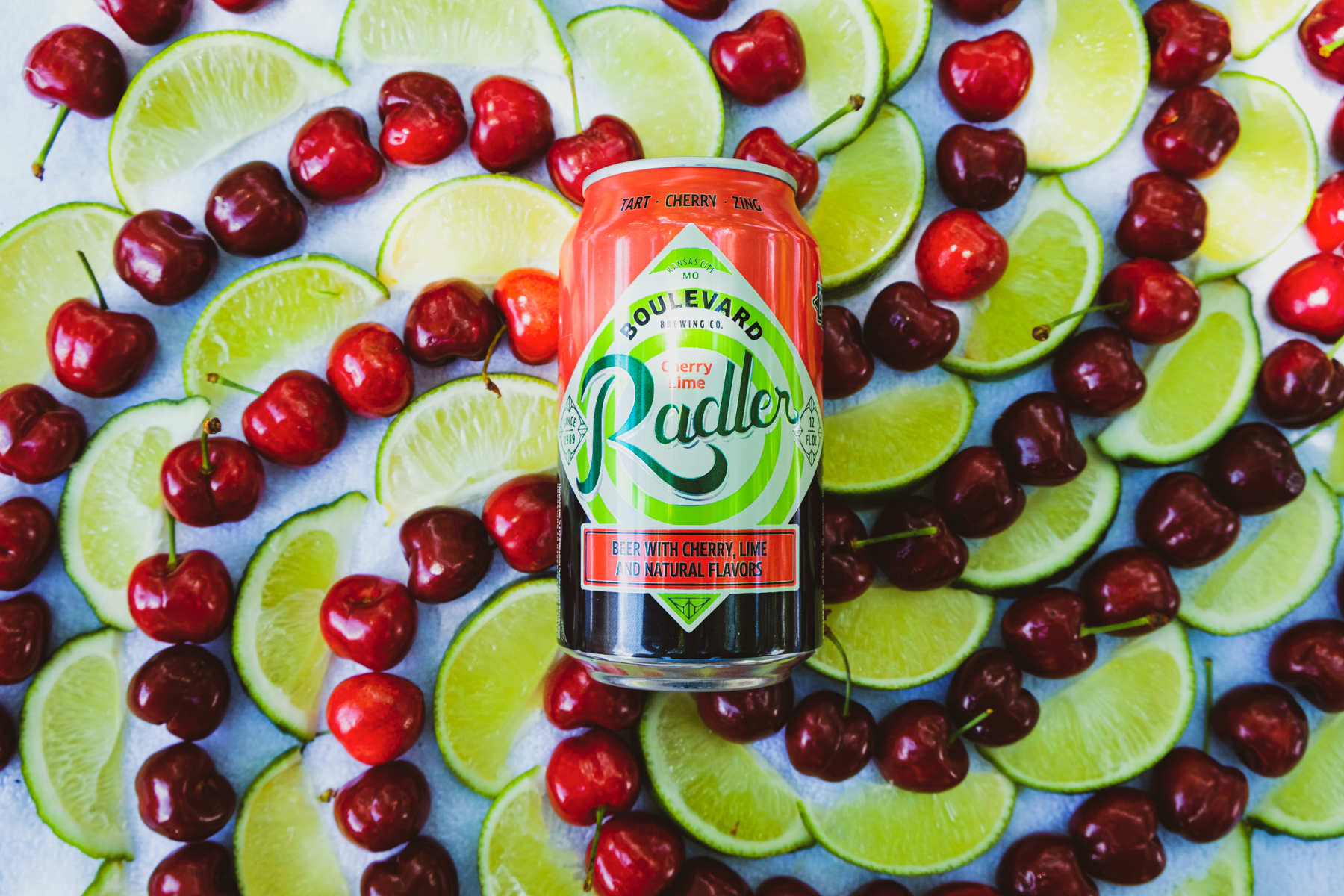 Introducing Cherry Lime Radler
