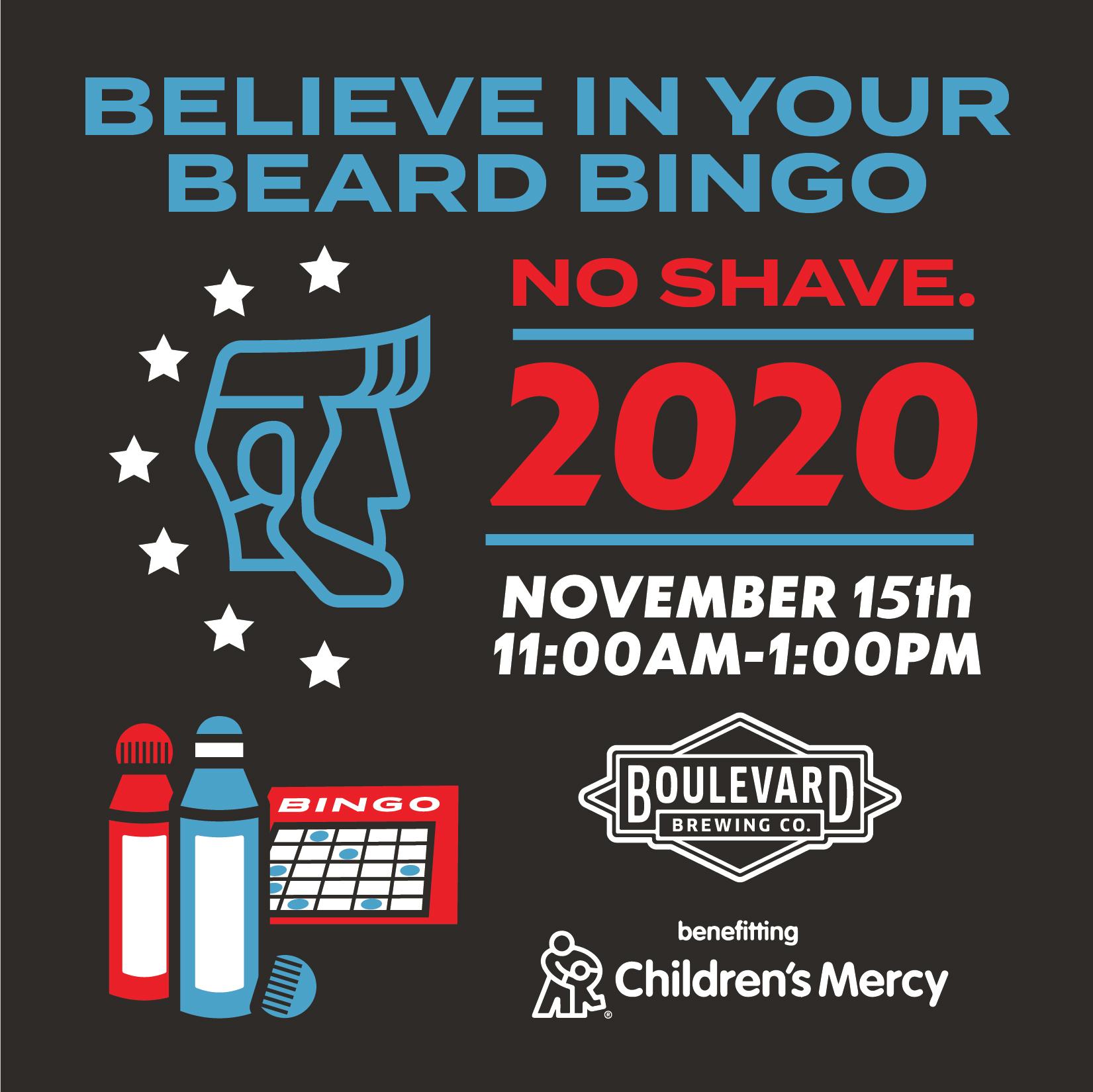 believe in your beard bingo 2020