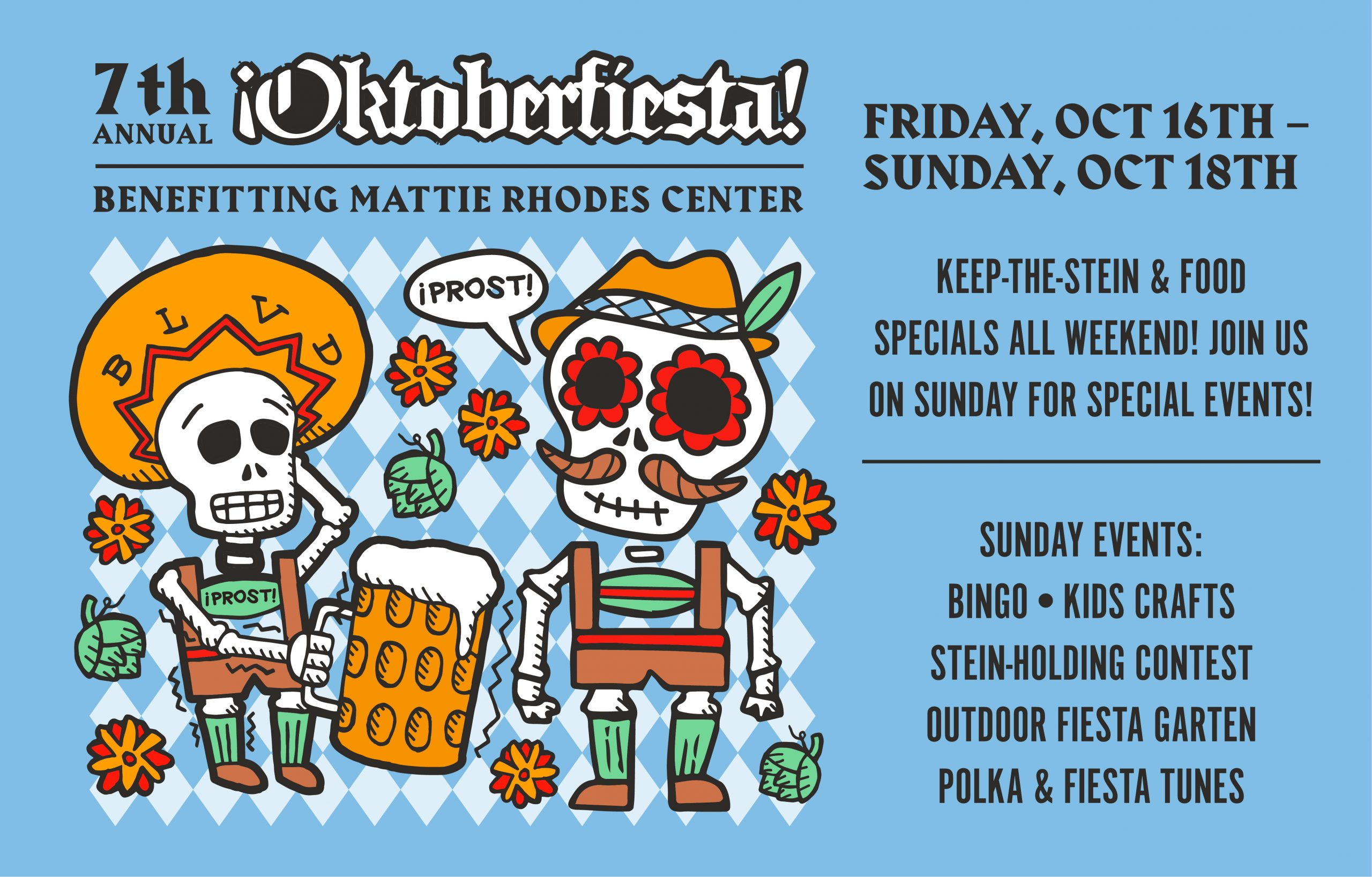 7th Annual Oktoberfiesta at Boulevard Tours and Rec Center