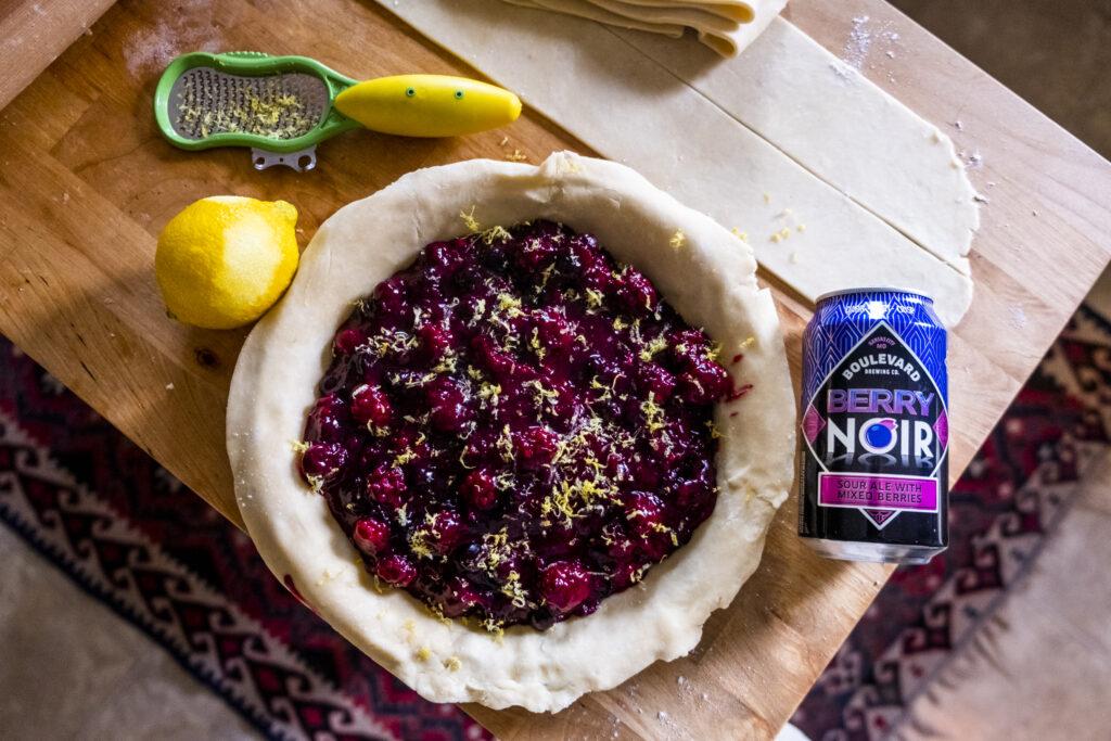 Berry Noir Pie
