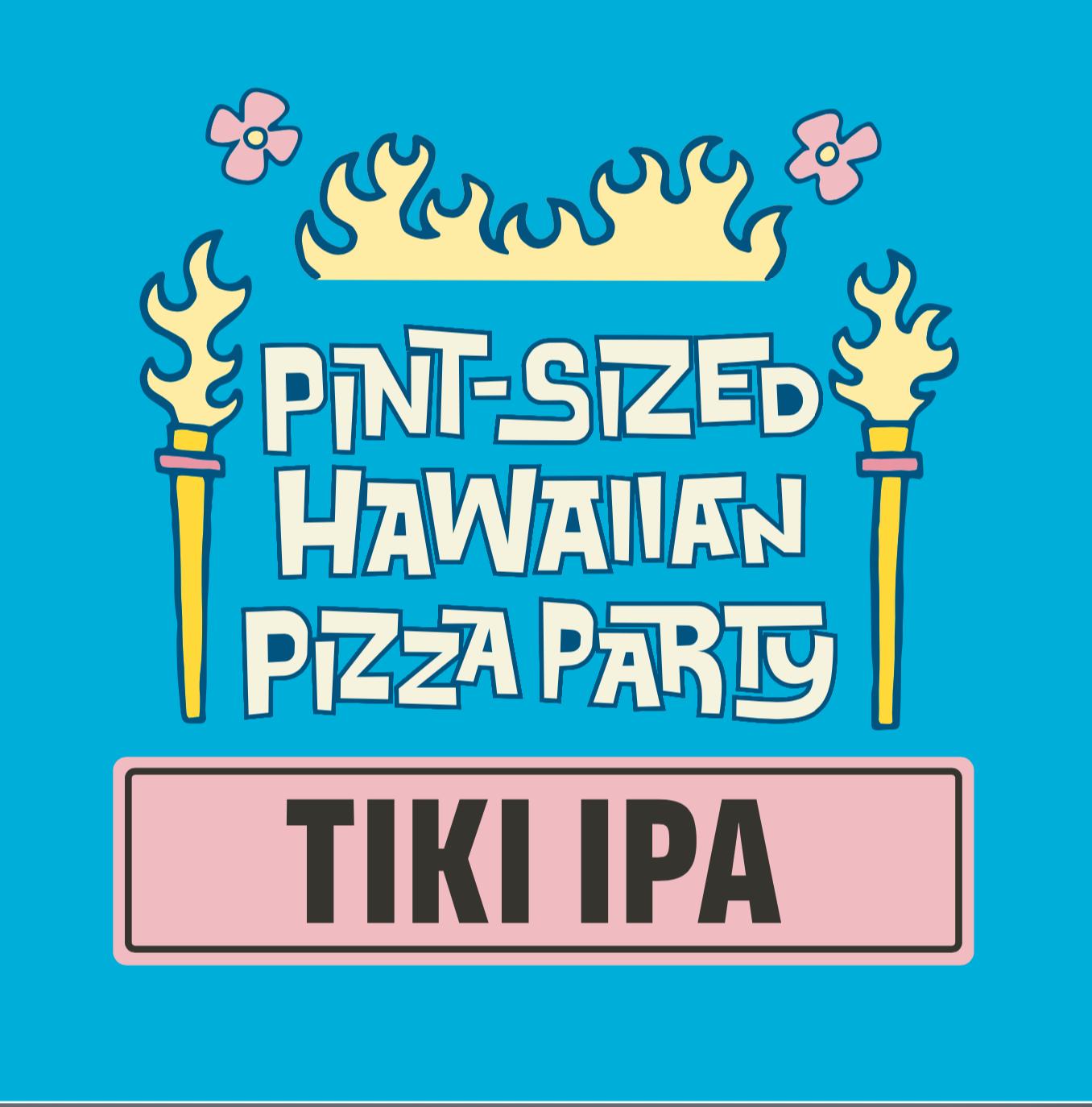 Pint-Sized Hawaiian Pizza Party