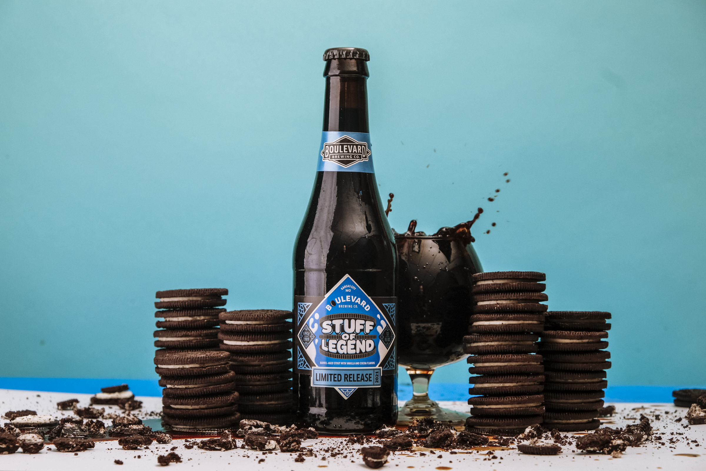 Stuff of Legend – Barrel-Aged Stout with Vanilla and Cocoa