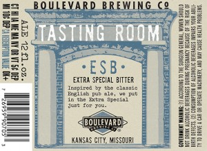 Tasting Room ESB is 4.9% ABV and 36 IBUs.