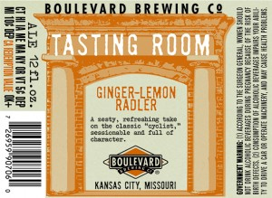 Ginger-Lemon Radler is 4.1% ABV and 13 IBUs.