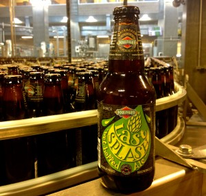 Last Splash is available in 6 packs of 12 ounce bottles.